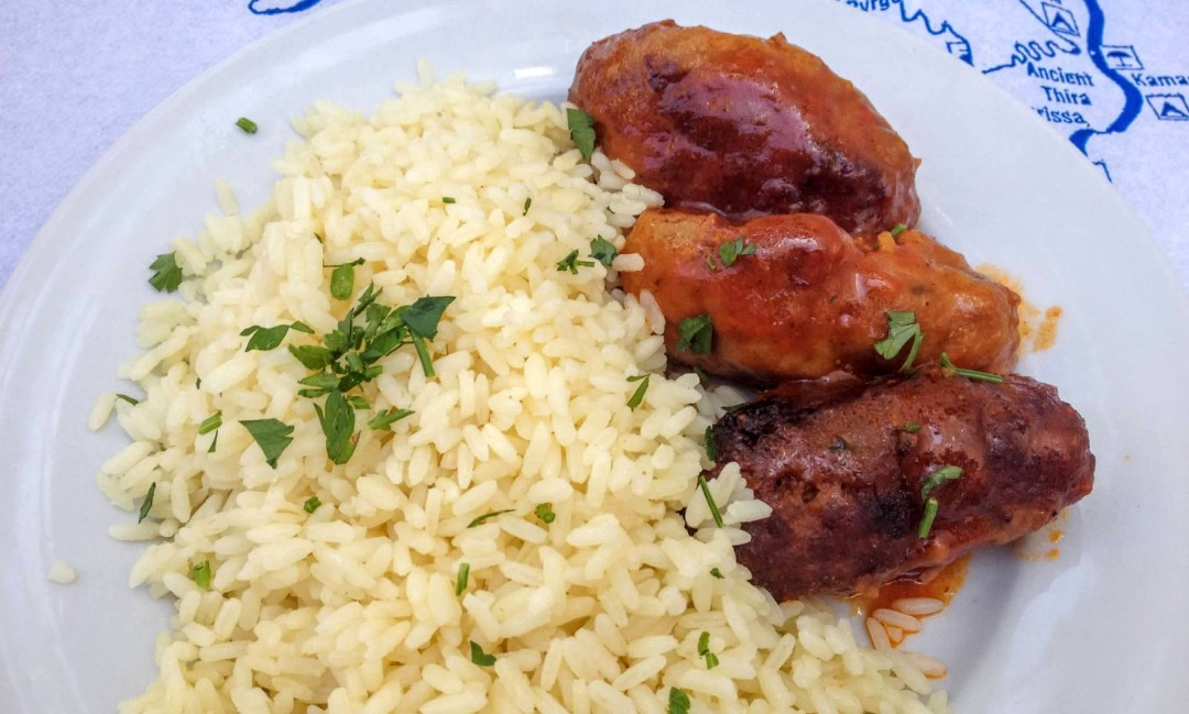 Greek Meatballs - Santorini