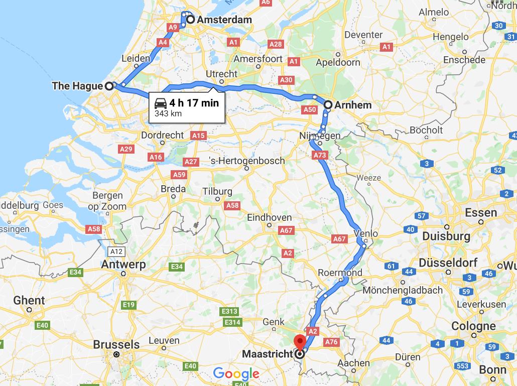 Map ND